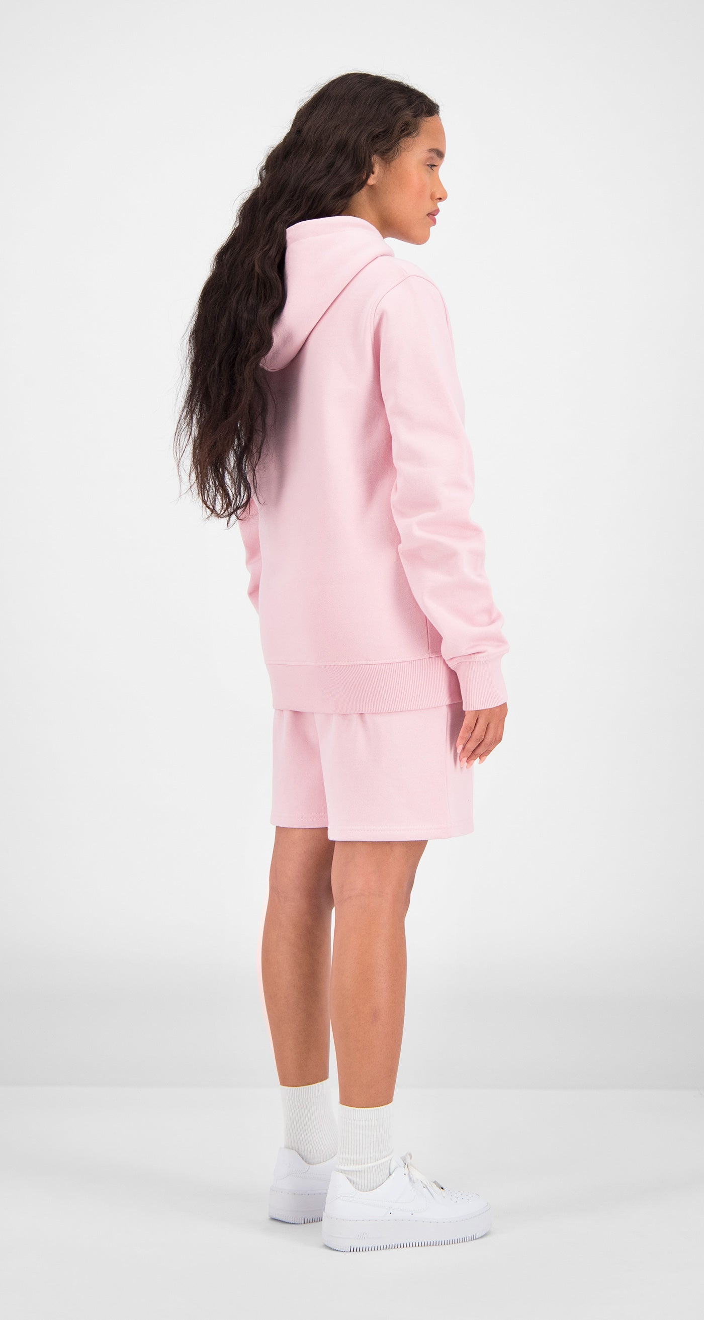 Daily Paper - Pink Essential Hoody Women Rear