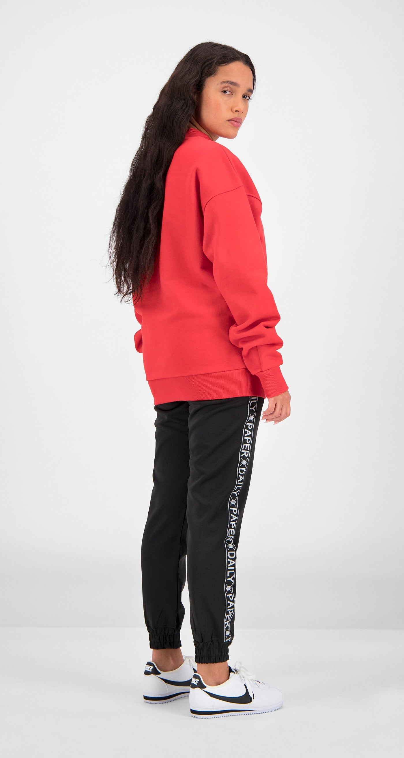 Daily Paper - Red Essential Sweater Women Rear