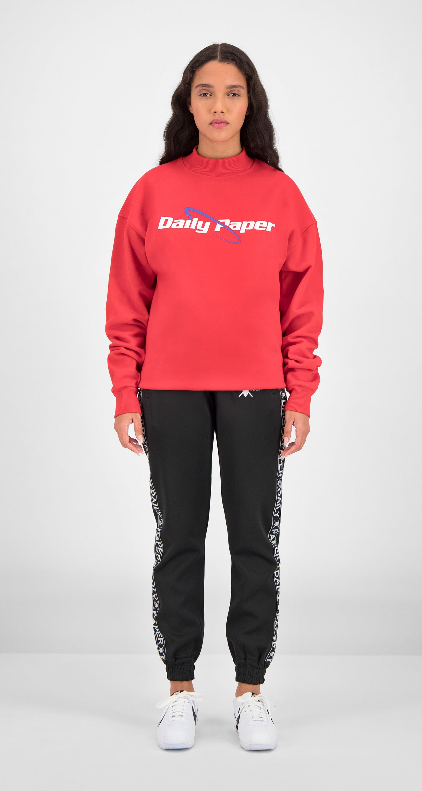 Daily Paper - Red Essential Sweater Women Front