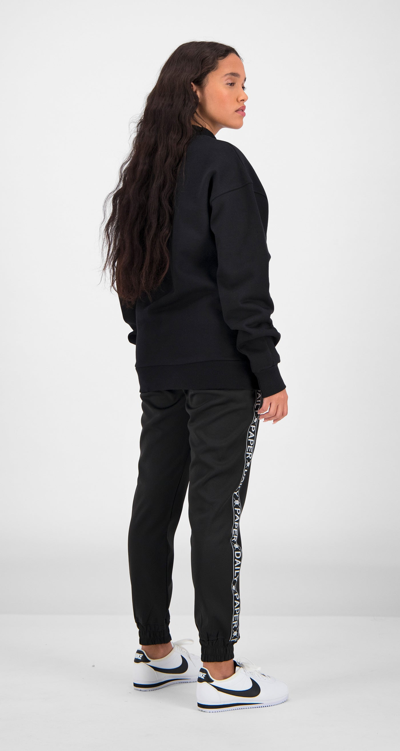 Daily Paper - Black Essential Sweater Women Rear