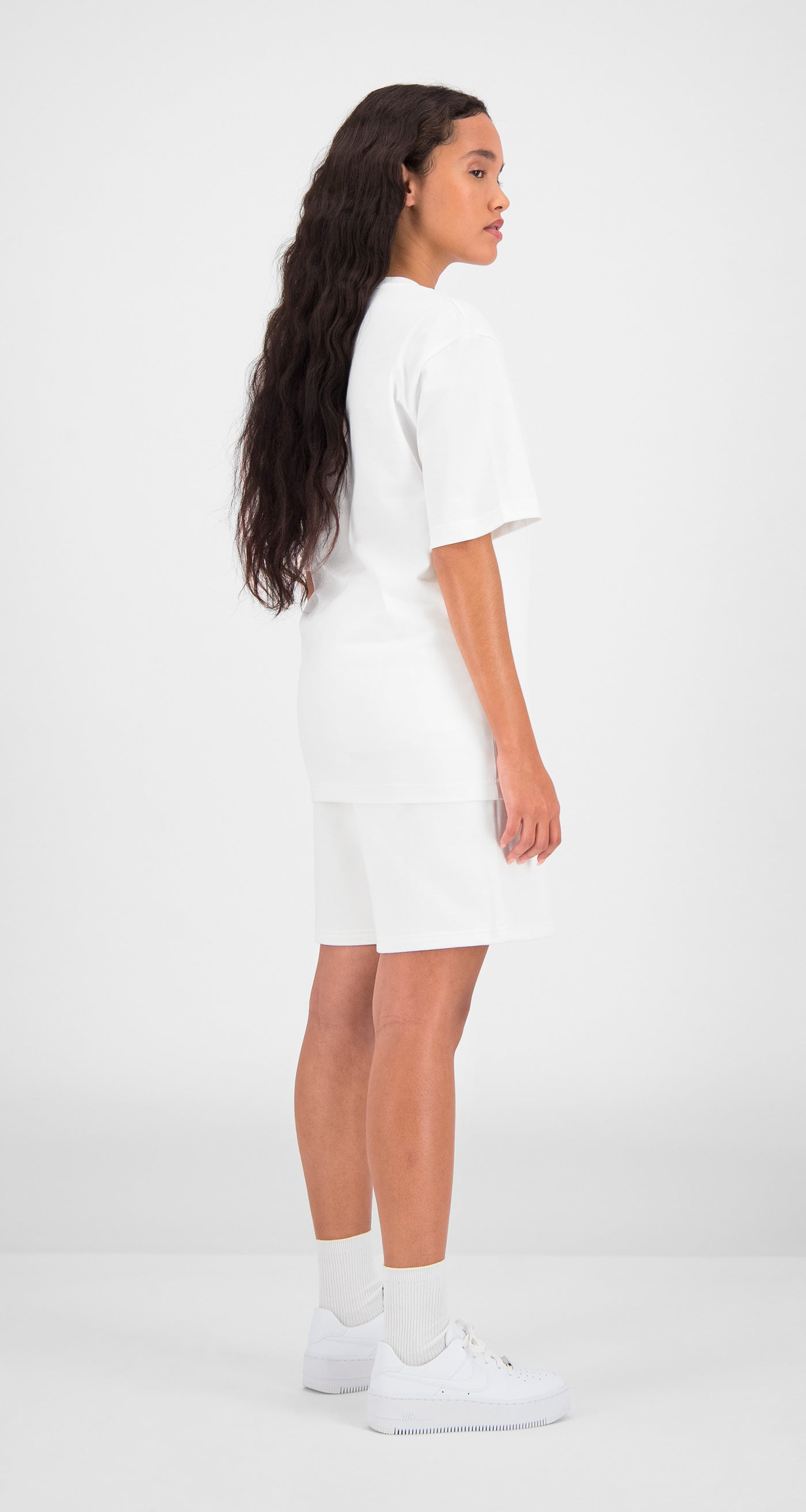 Daily Paper - White Essential T-Shirt Women Rear