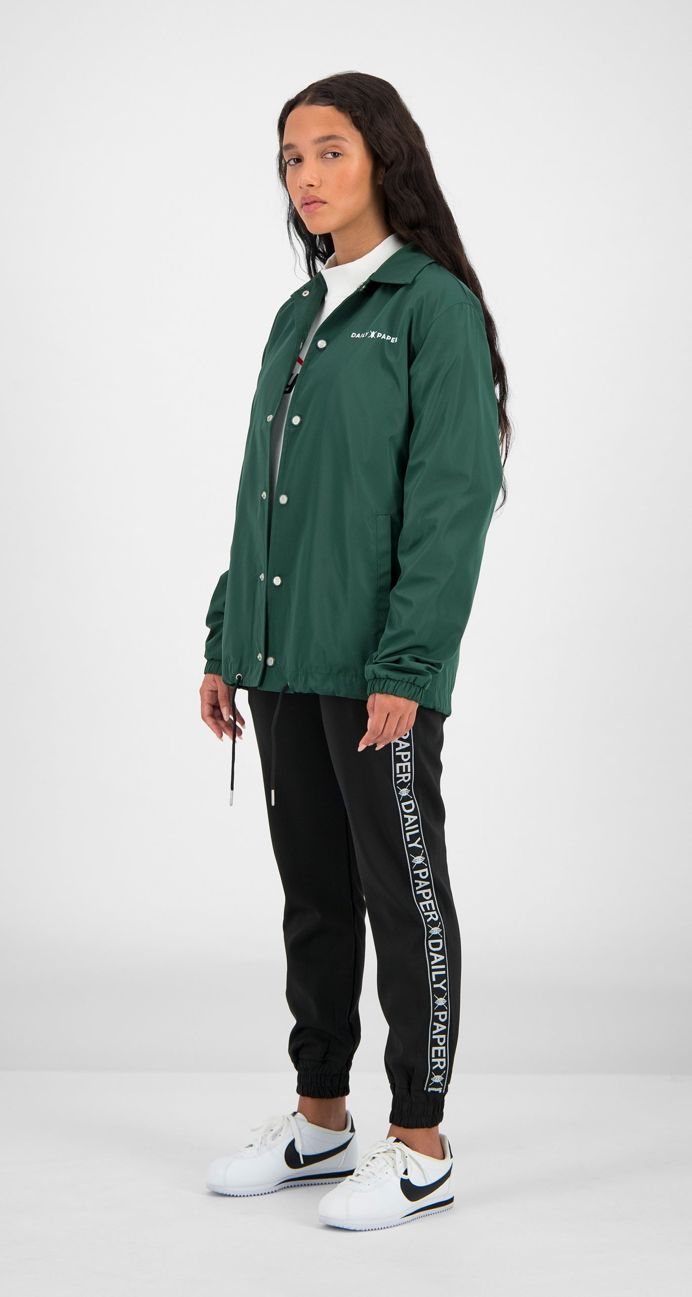 Daily Paper - Green Essential Coach Jacket Women