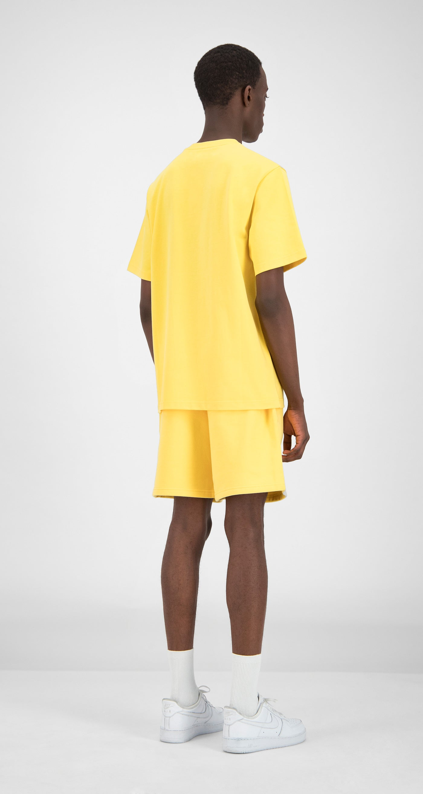 Daily Paper - Yellow Essential T-Shirt Men Rear