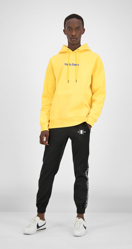 Daily Paper - Yellow Essential Hoody Men Front