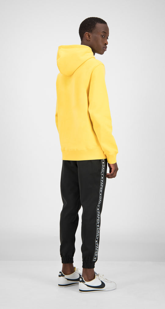 Daily Paper - Yellow Essential Hoody Men Rear