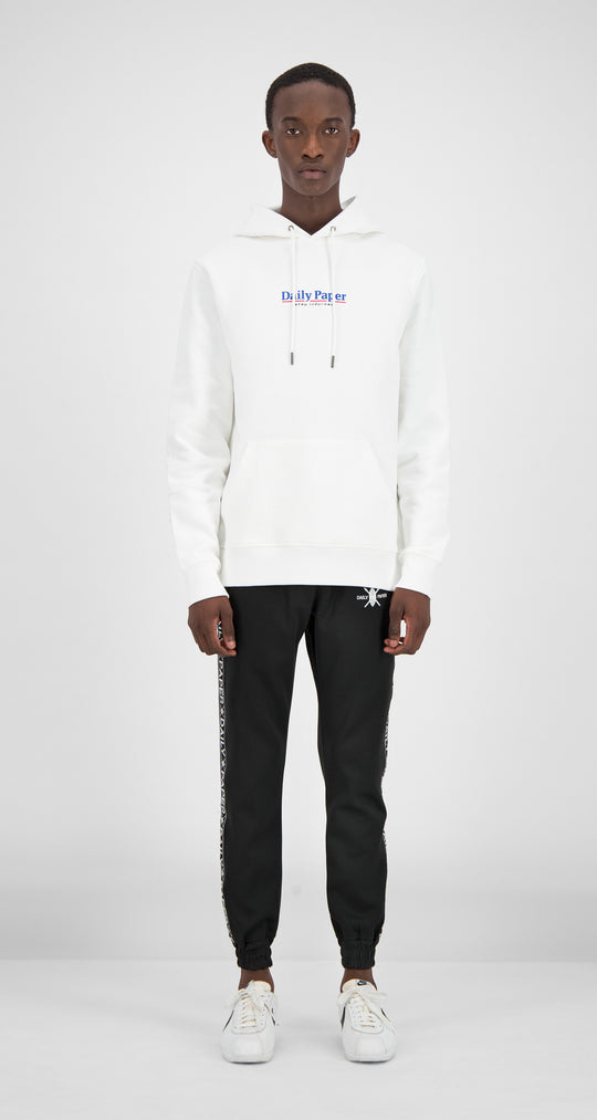 Daily Paper - White Essential Hoody Men Front