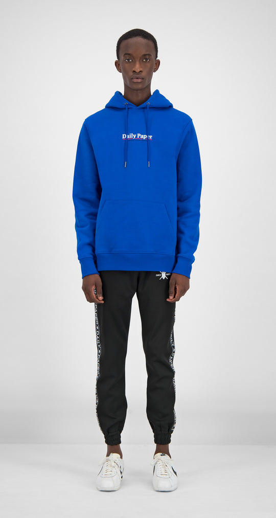 Daily Paper - Blue Essential Hoody Men Front