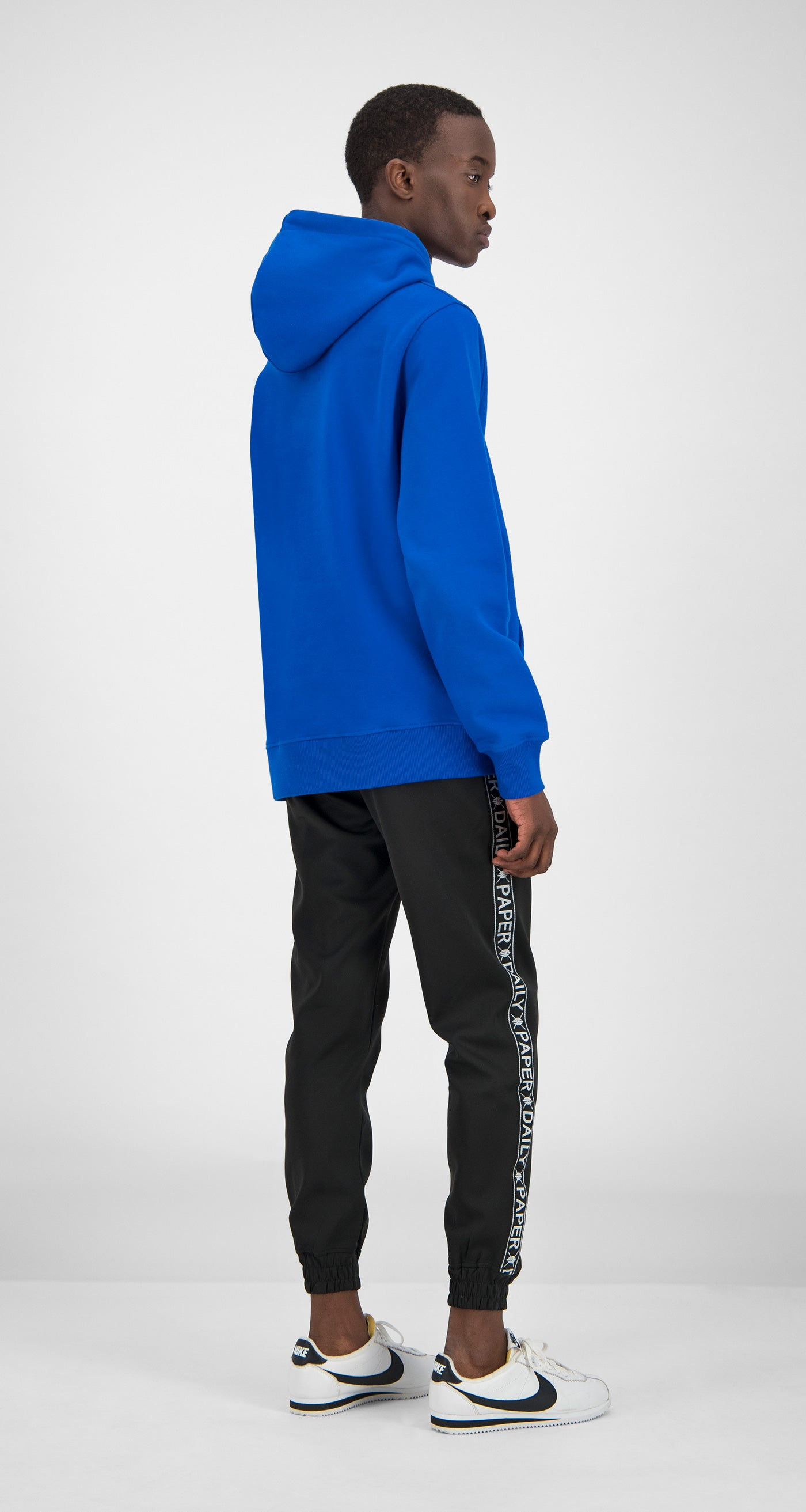 Daily Paper - Blue Essential Hoody Men Rear