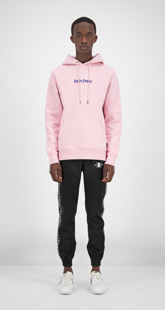 Daily Paper - Pink Essential Hoody Men Front