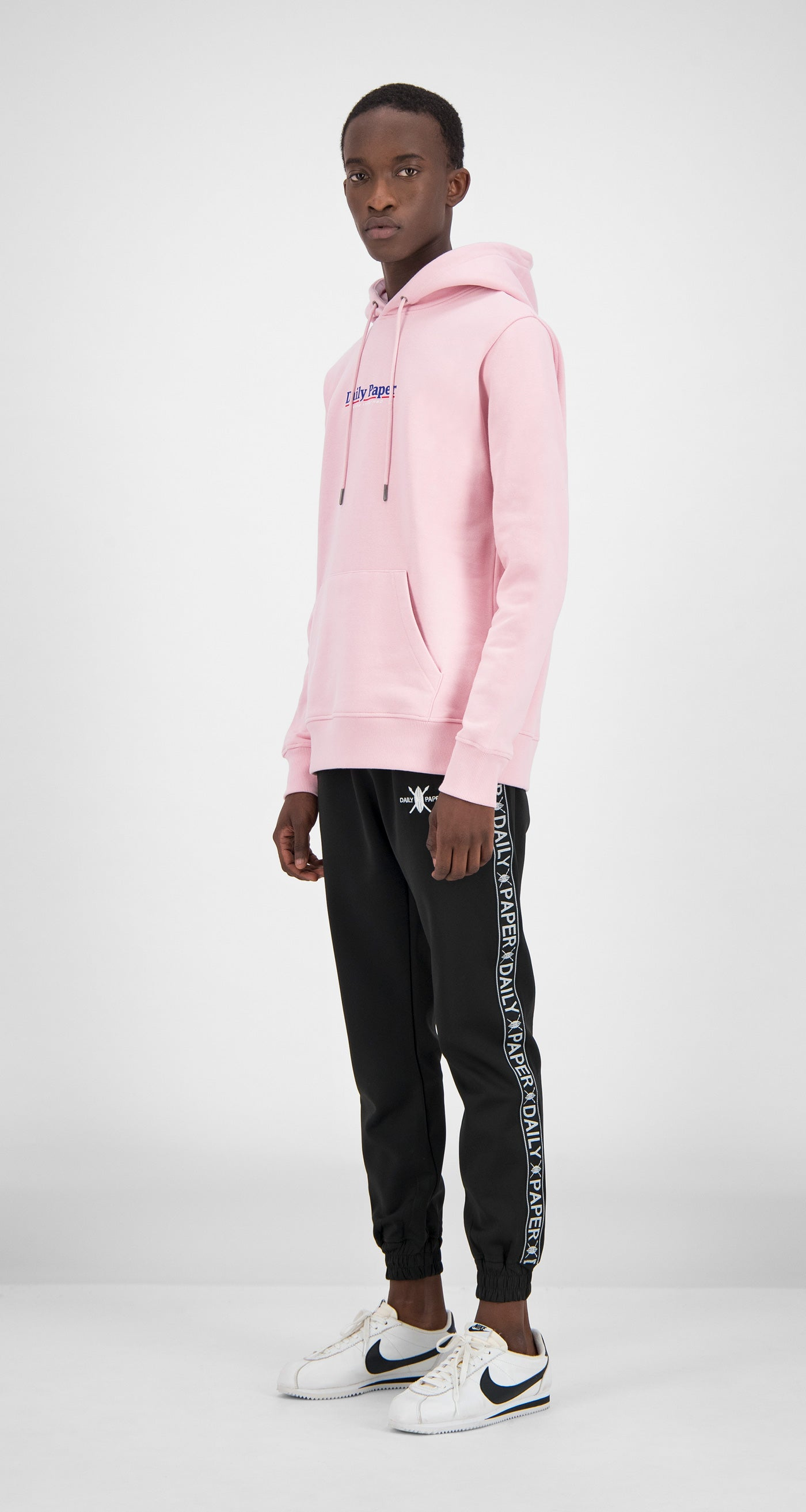 Daily Paper - Pink Essential Hoody Men