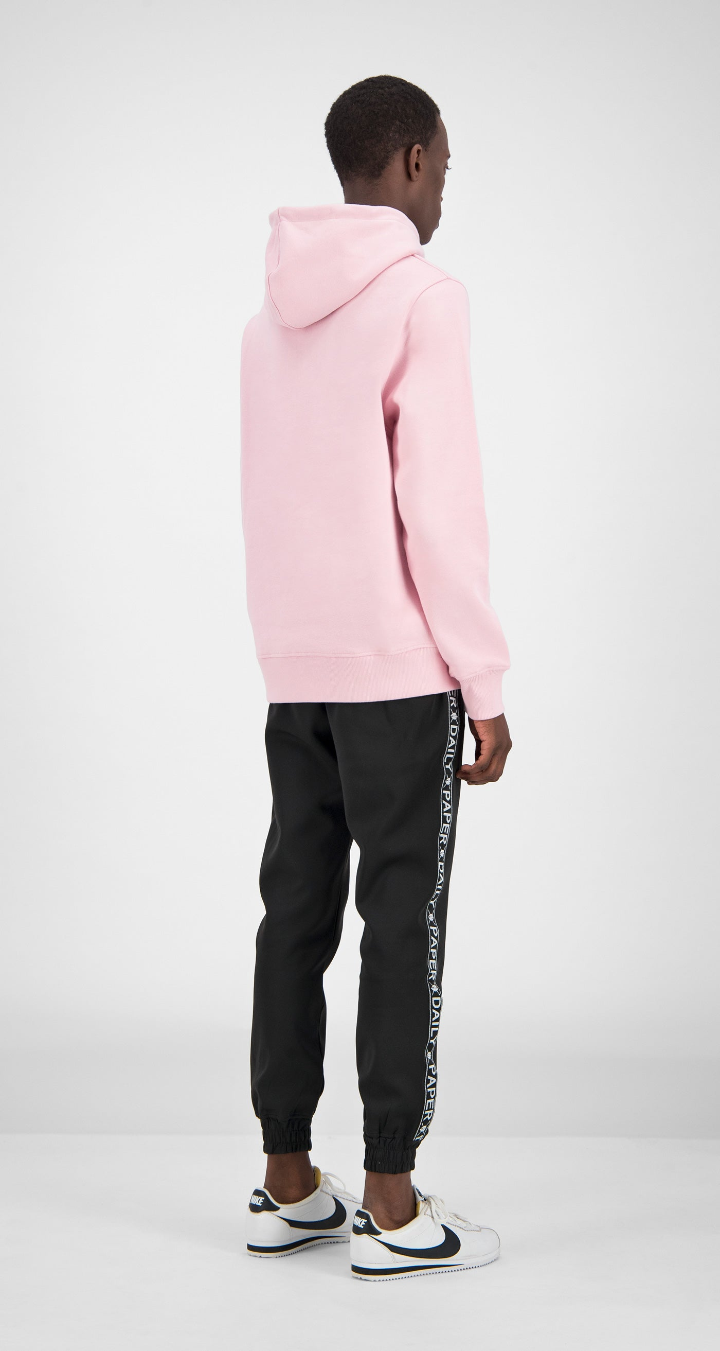 Daily Paper - Pink Essential Hoody Men Rear