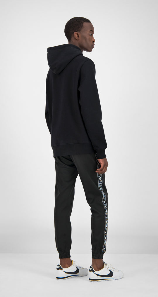 Daily Paper - Black Essential Hoody Men Rear