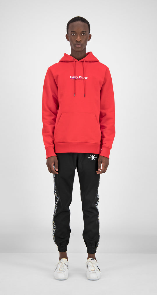Daily Paper - Red Essential Hoody Men Front