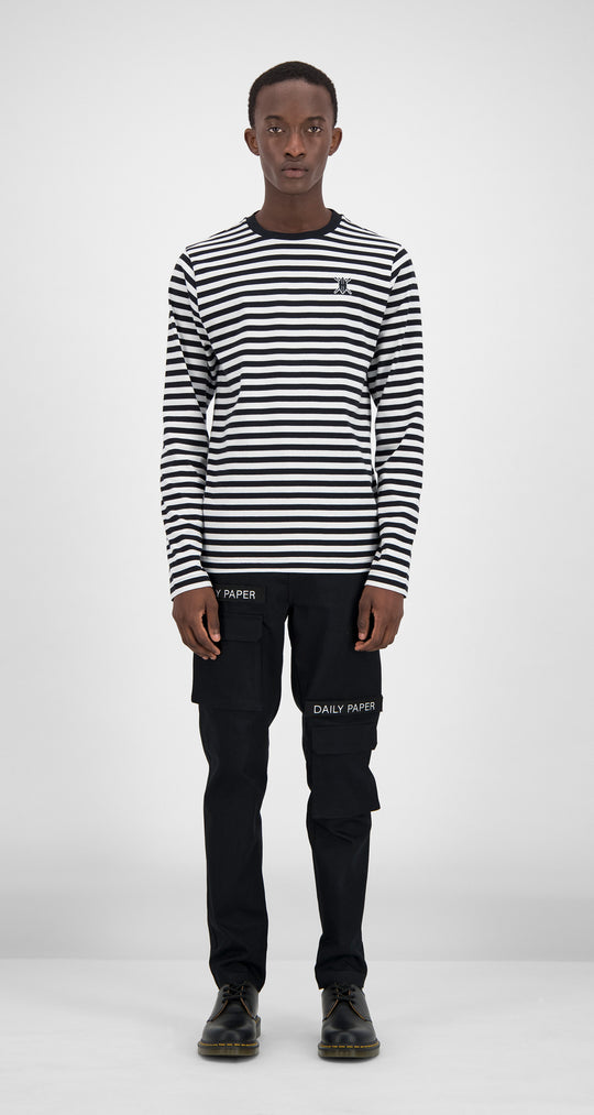 Daily Paper - Striped Essential Longsleeve Men Front