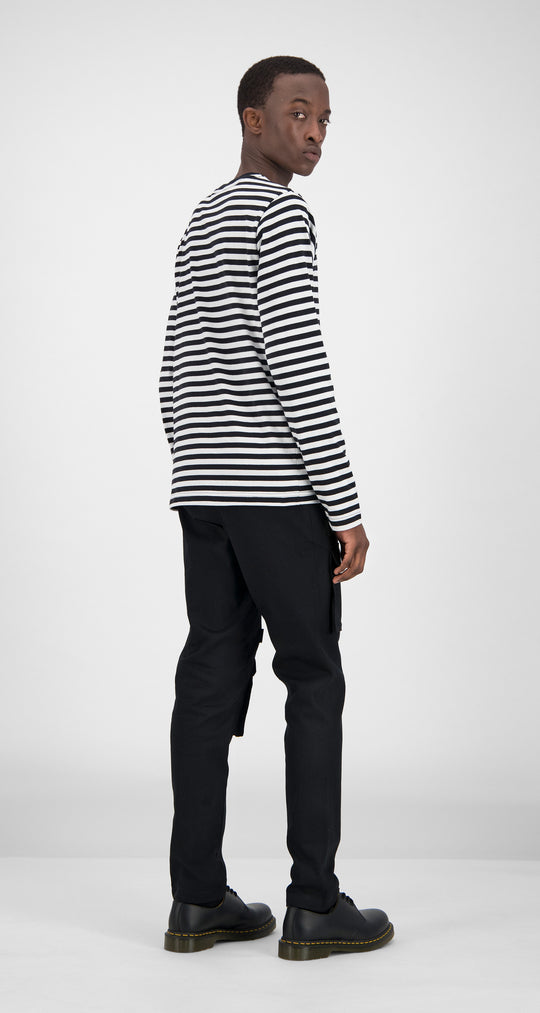 Daily Paper - Striped Essential Longsleeve Men Rear