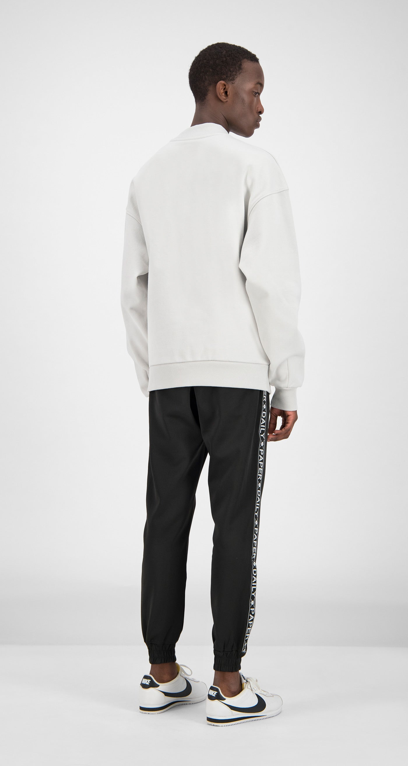 Daily Paper - Grey Essential Sweater Men Rear