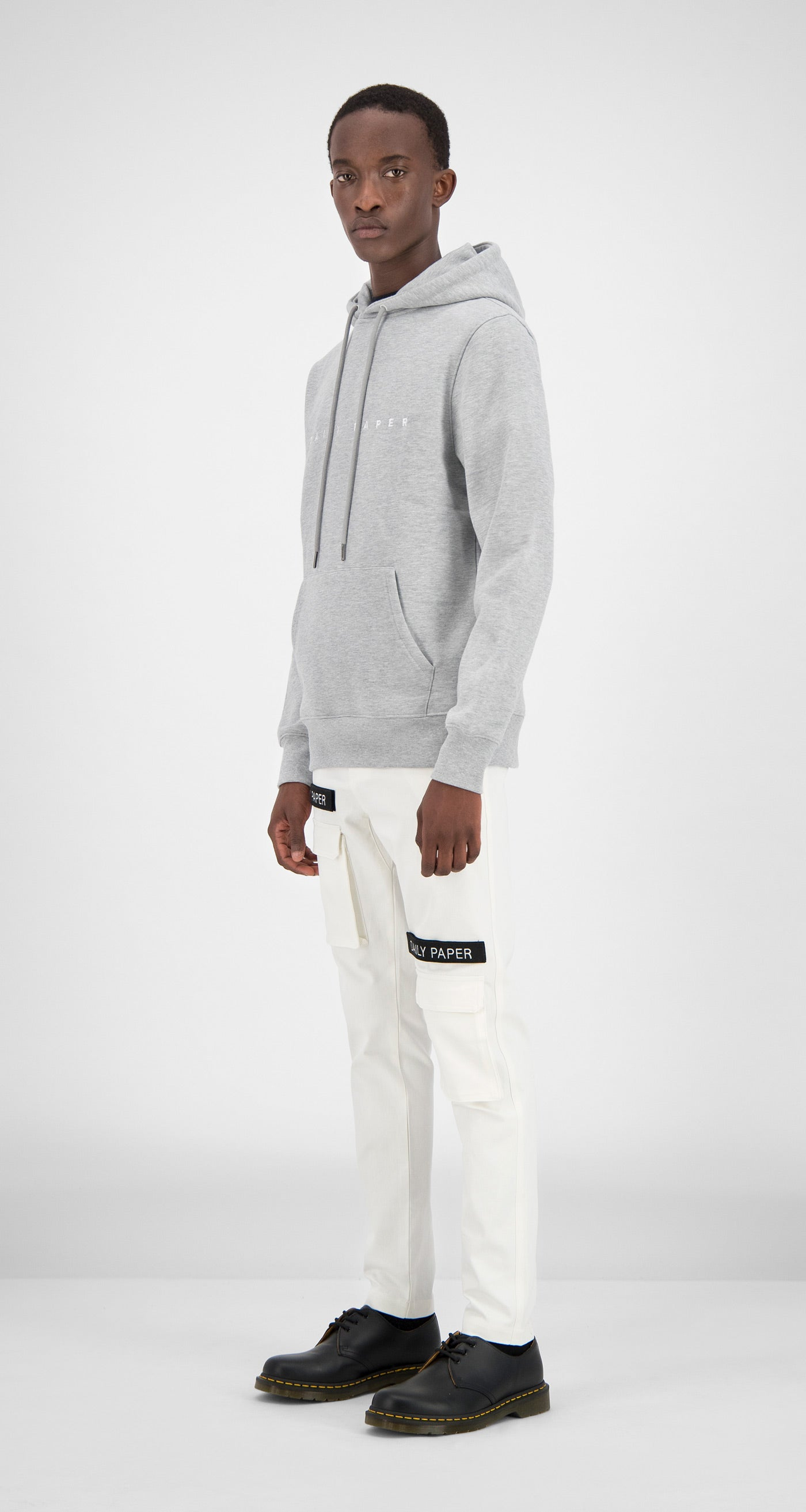Daily Paper - Grey Alias Hoody Men