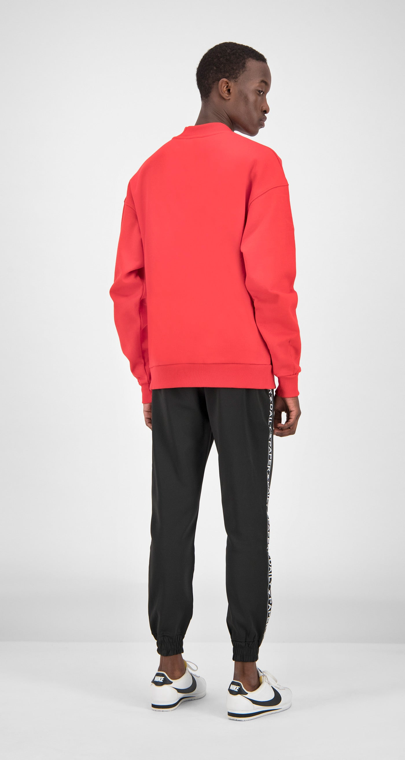 Daily Paper - Red Essential Sweater Men Rear