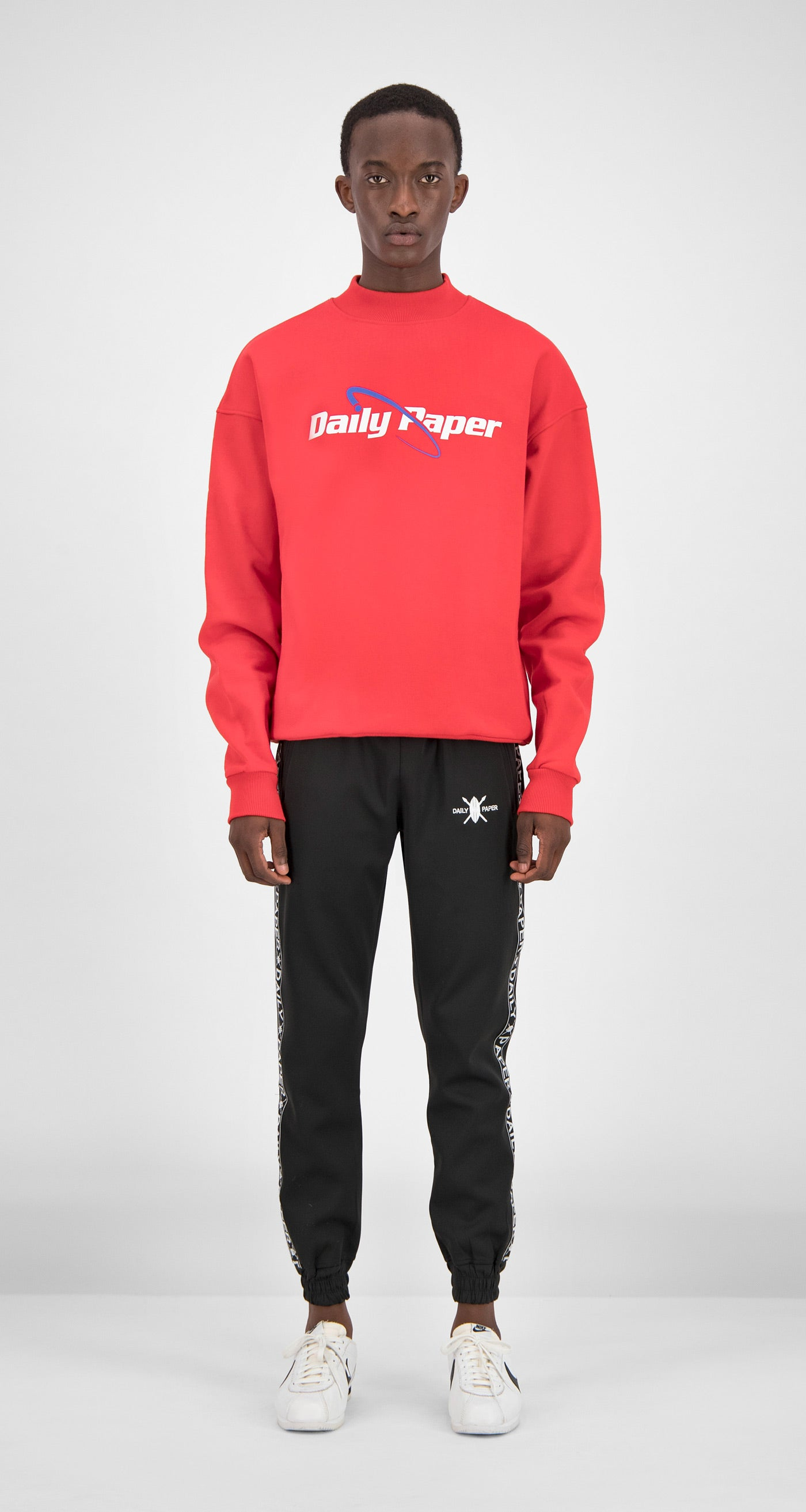 Daily Paper - Red Essential Sweater Men