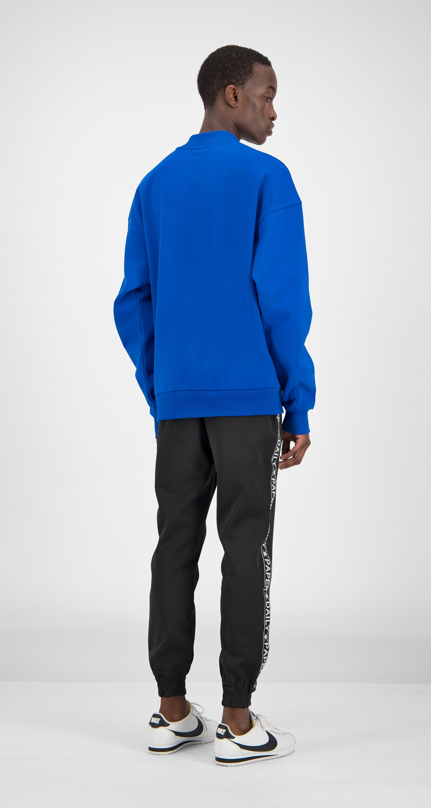 Daily Paper - Blue Essential Sweater Men Rear