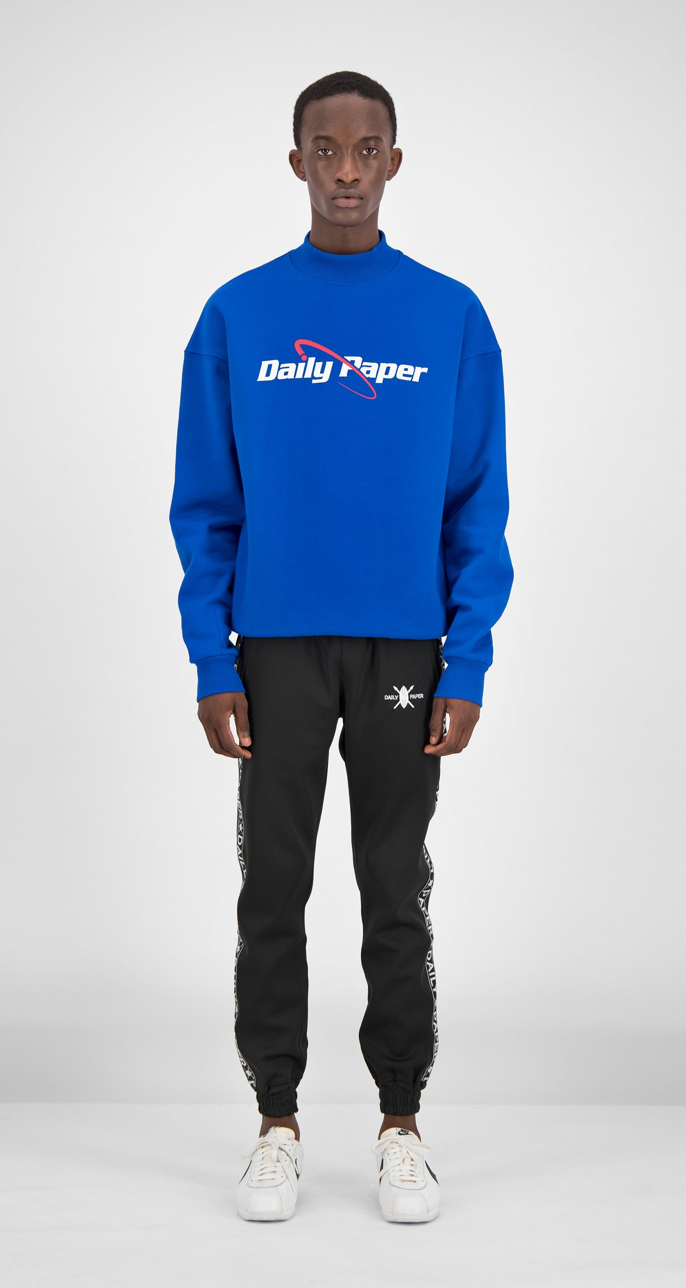 Daily Paper - Blue Essential Sweater Men Front