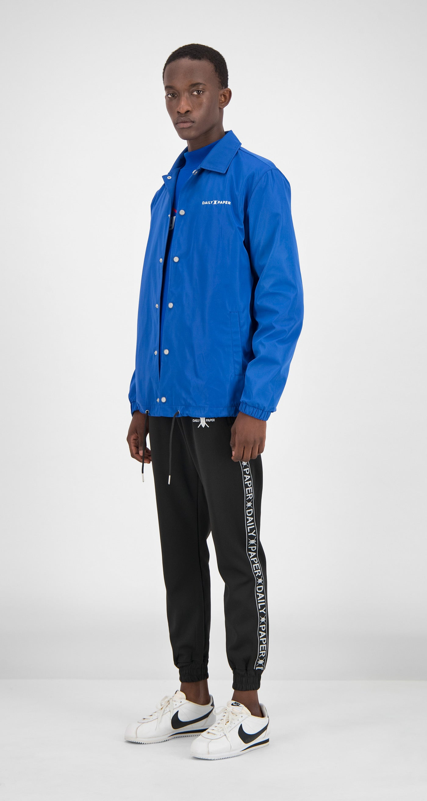 Daily Paper - Blue Essential Coach Jacket Men