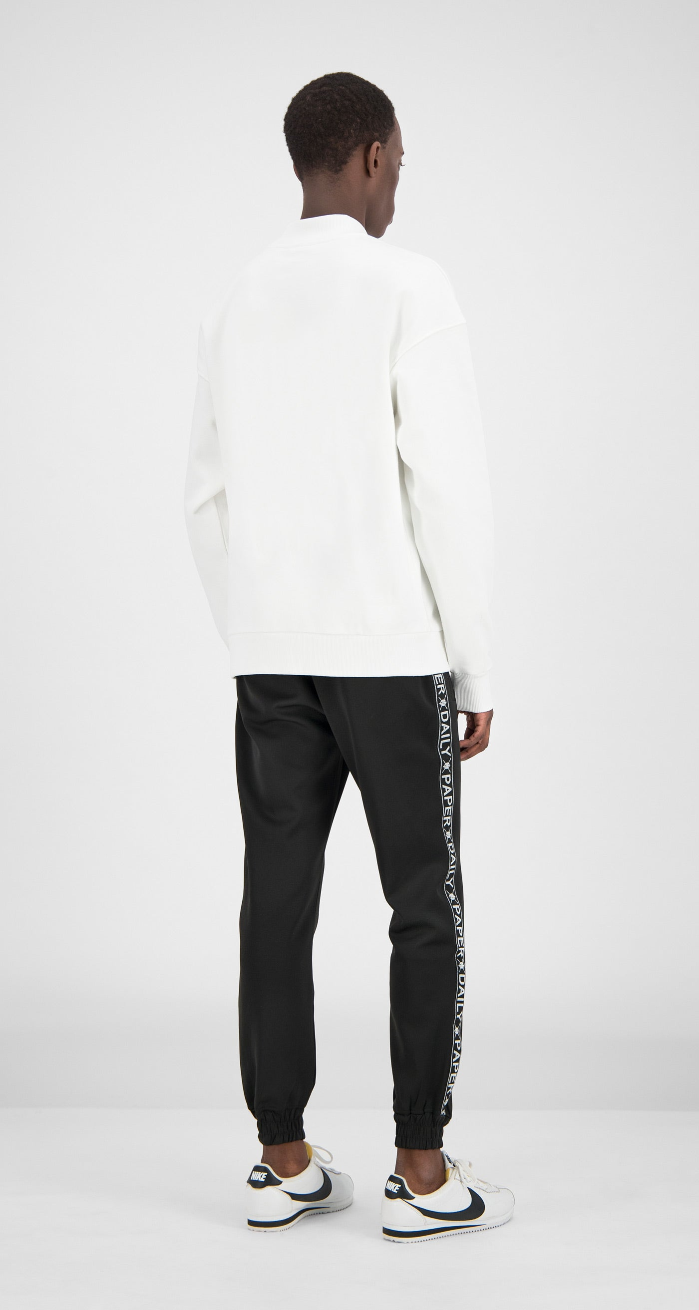 Daily Paper - White Essential Sweater Men Rear