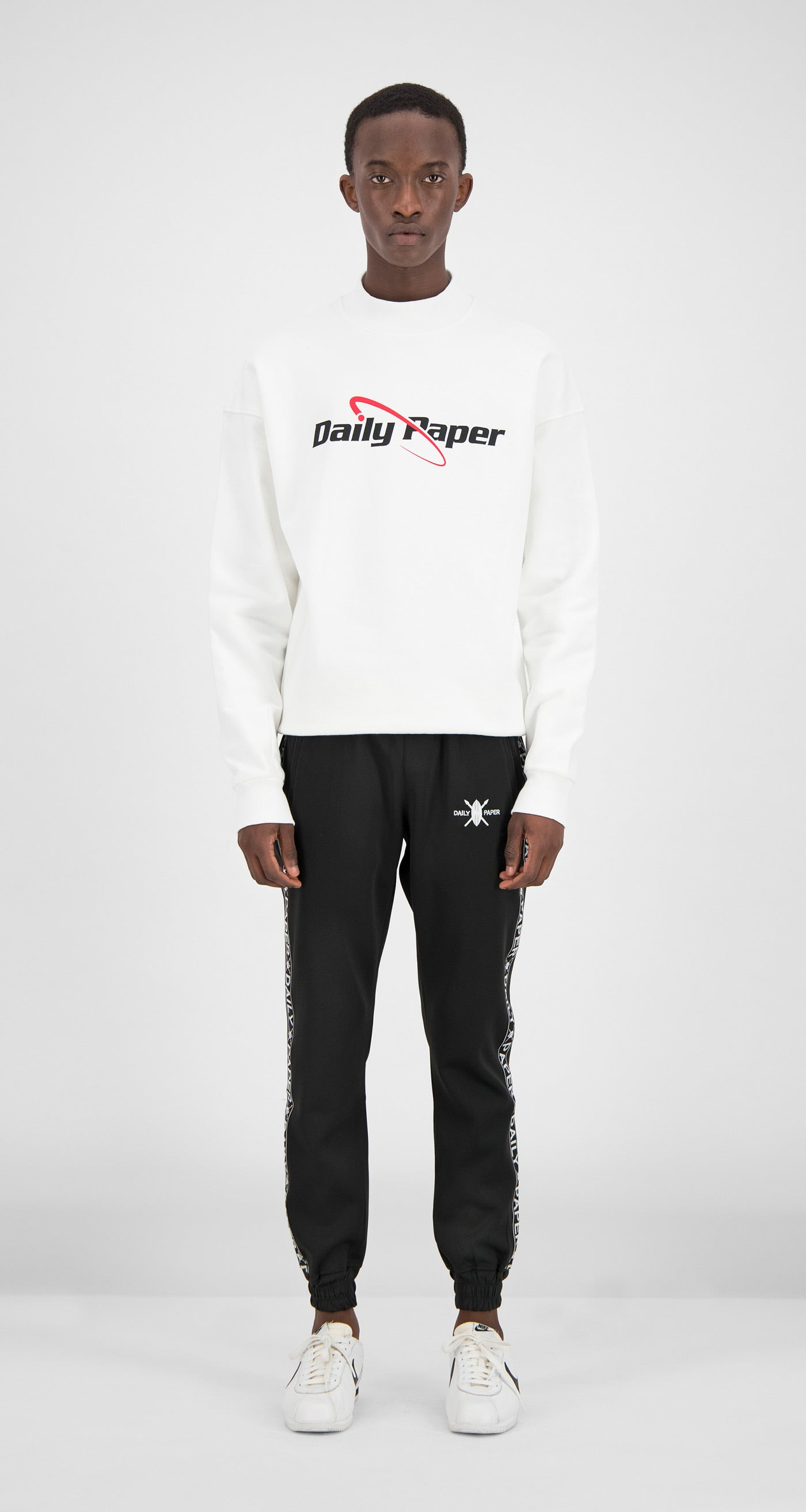 Daily Paper - White Essential Sweater Men