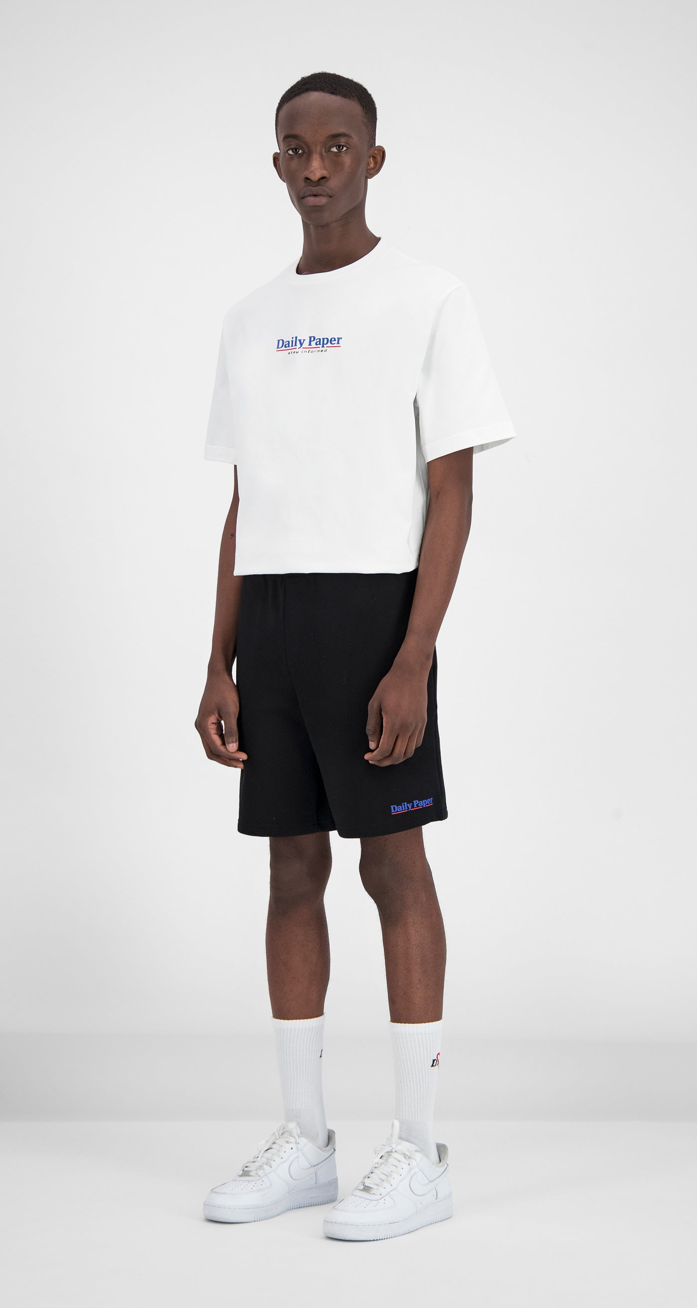 Daily Paper - Black Essential Fleece Short Men