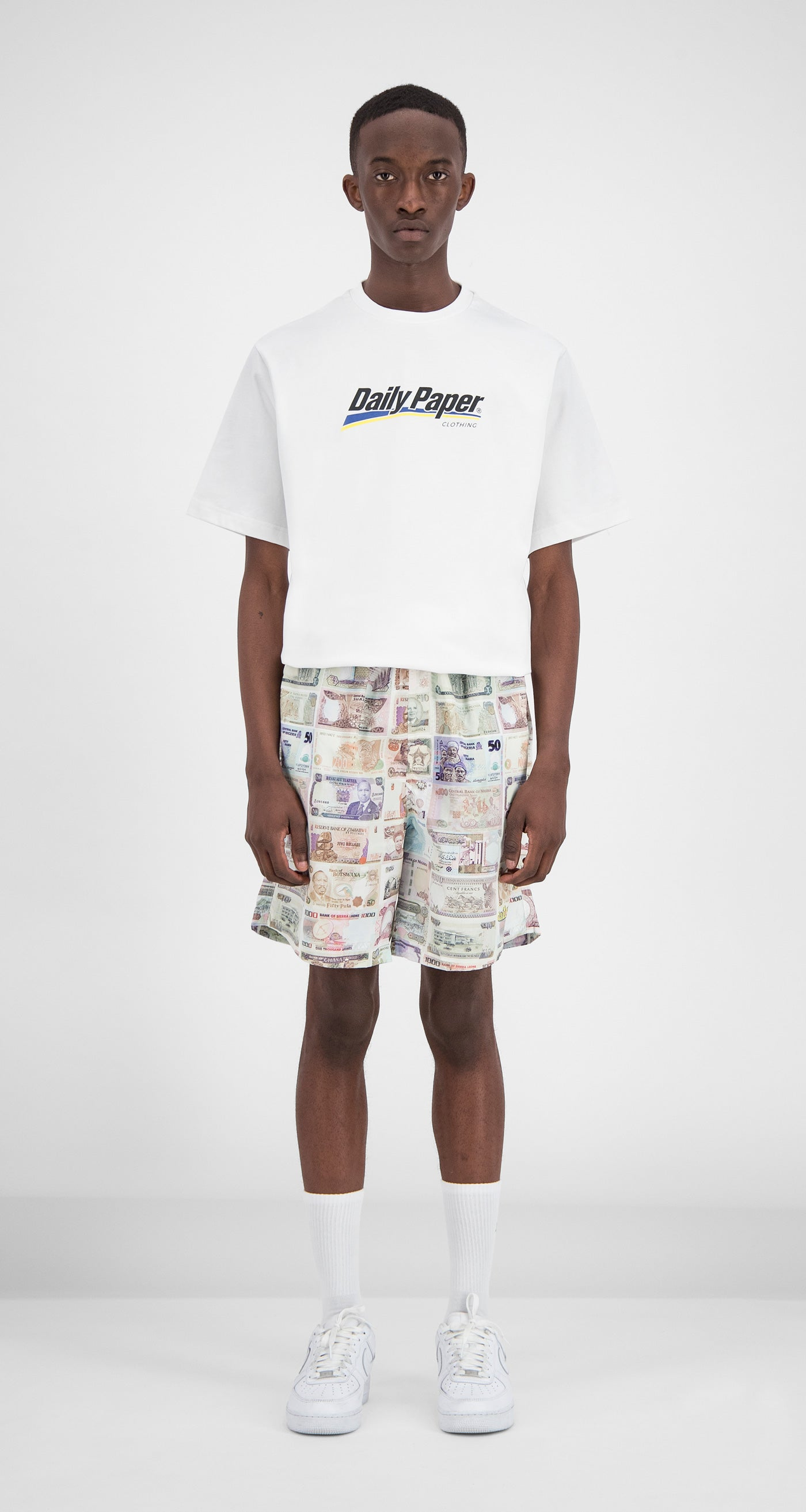 Daily Paper - Printed Money Fali Swimshorts Men Front