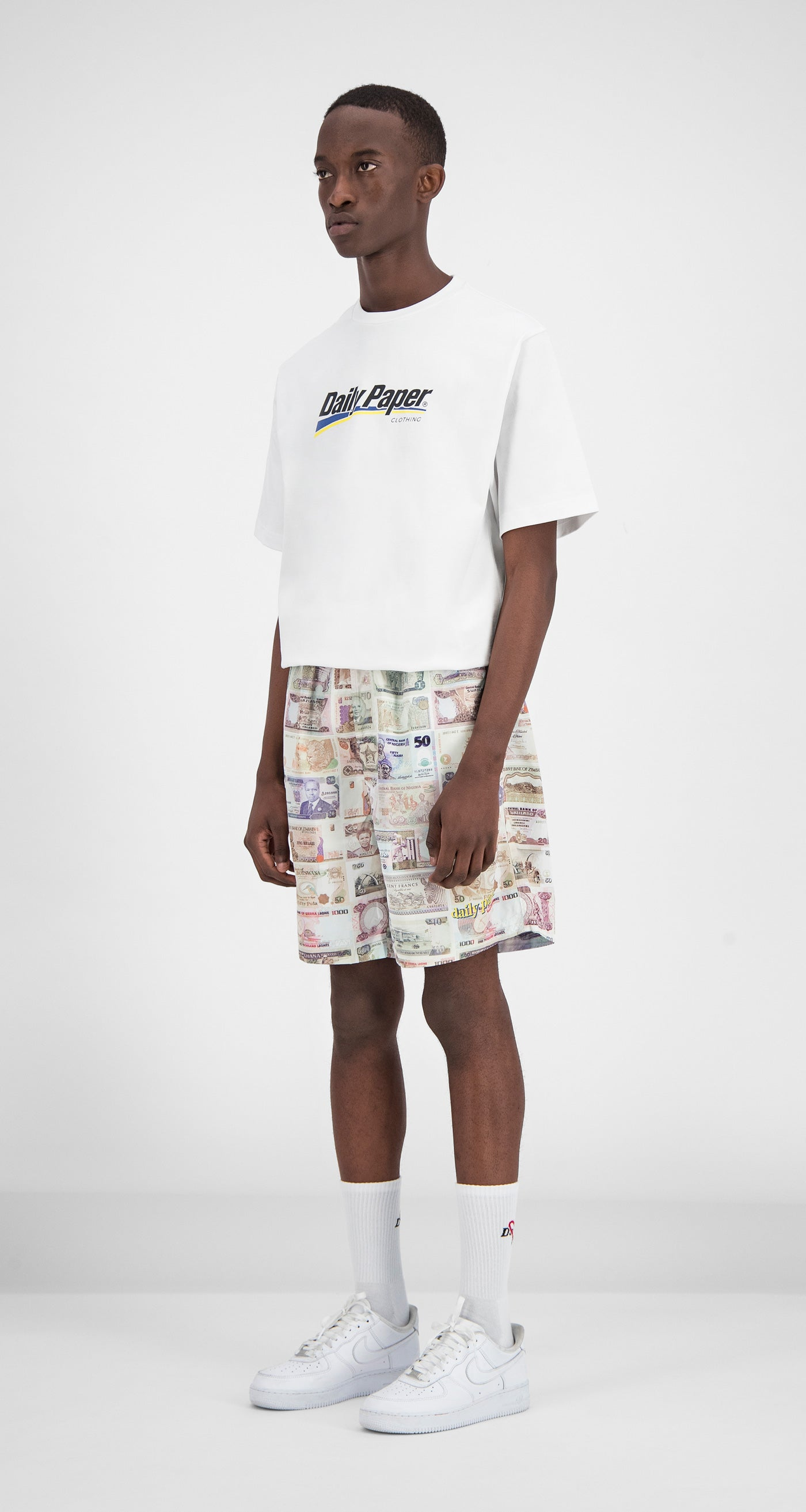 Daily Paper - Printed Money Fali Swimshorts Men