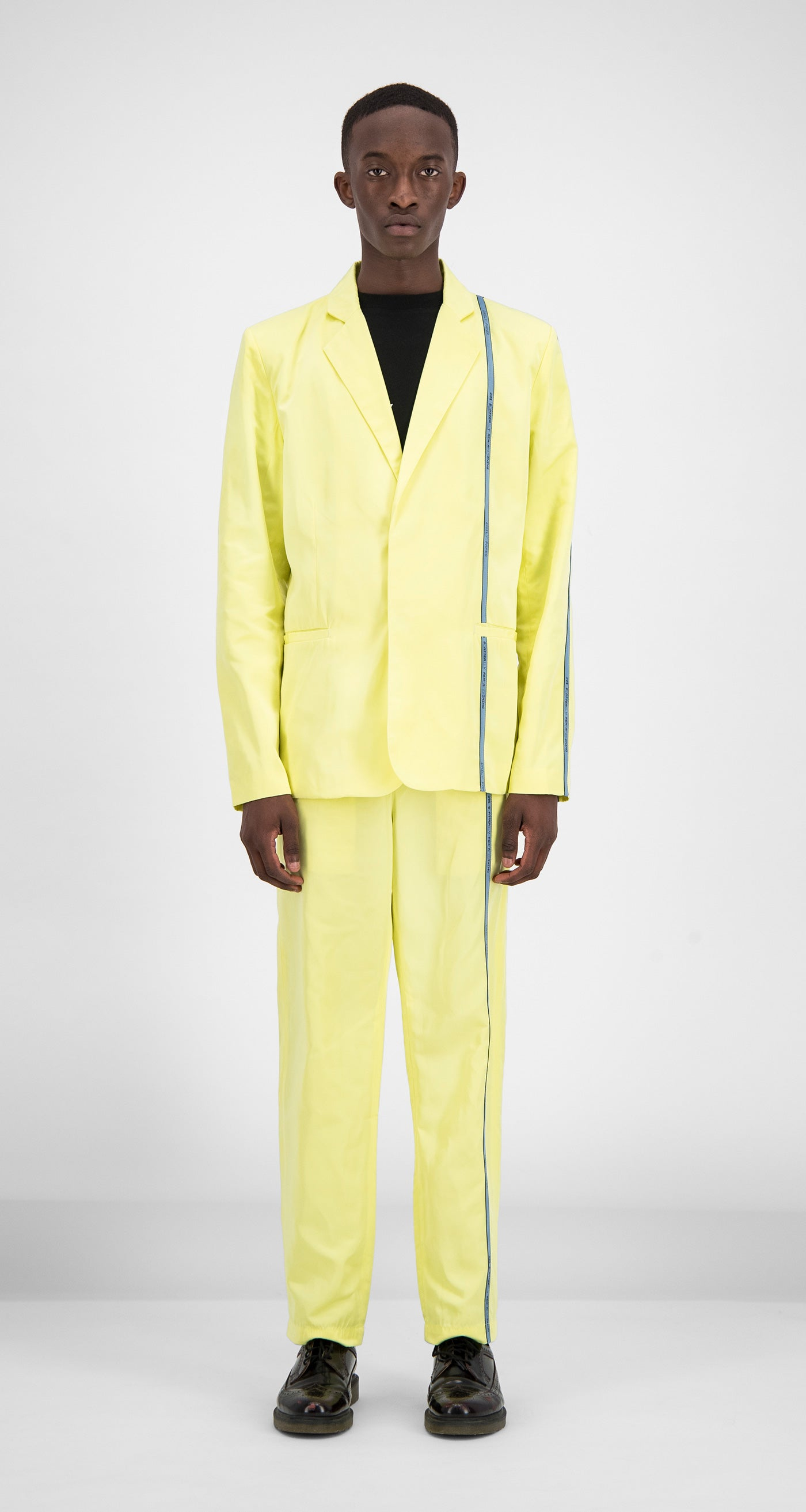 Daily Paper - Yellow Fatong Blazer Men Front