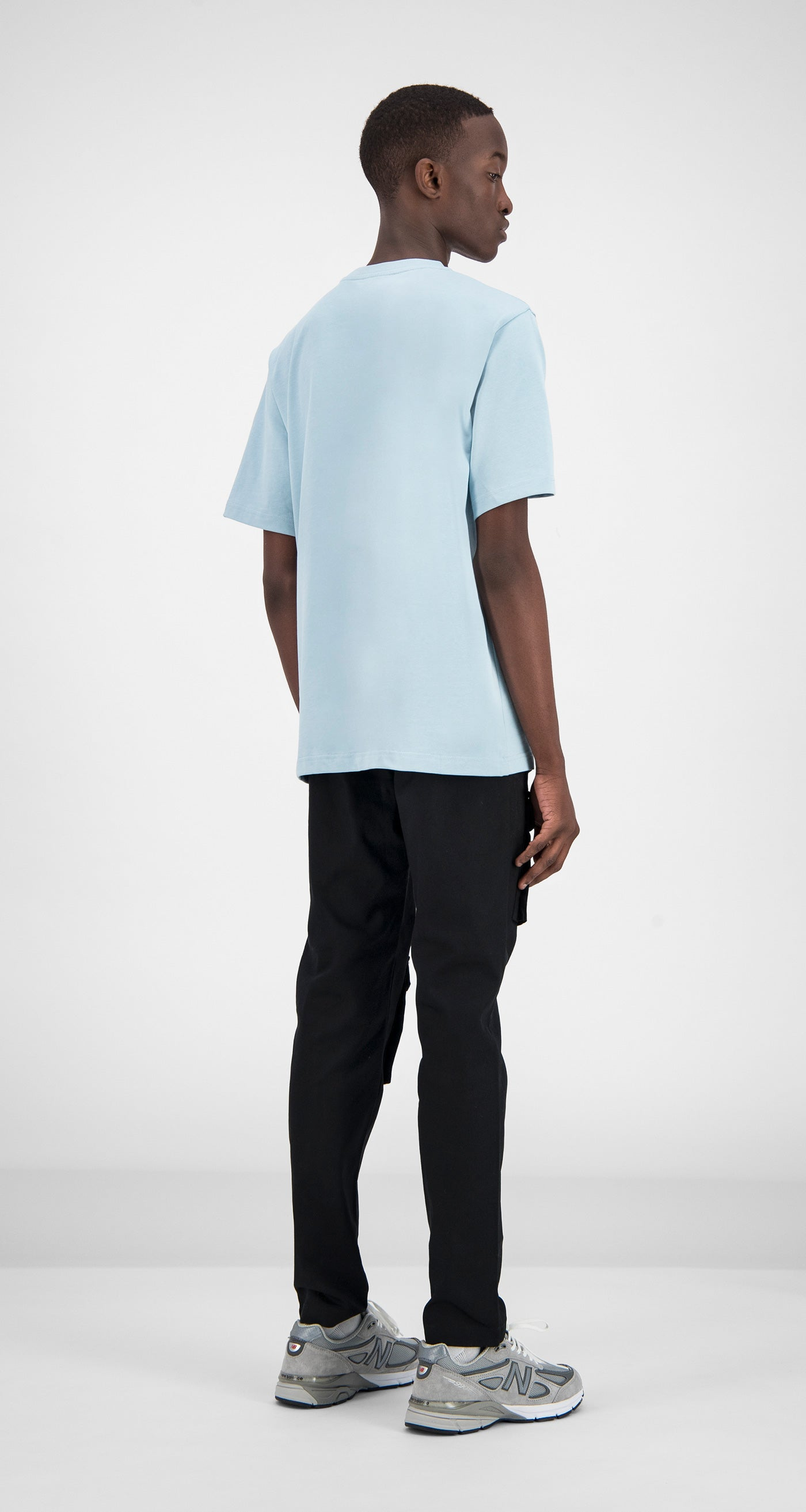 Daily Paper - Light Blue Fitot T-Shirt Men