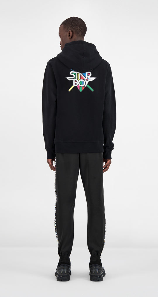 Daily Paper x STARBOY Rainbow Hoody Men Rear