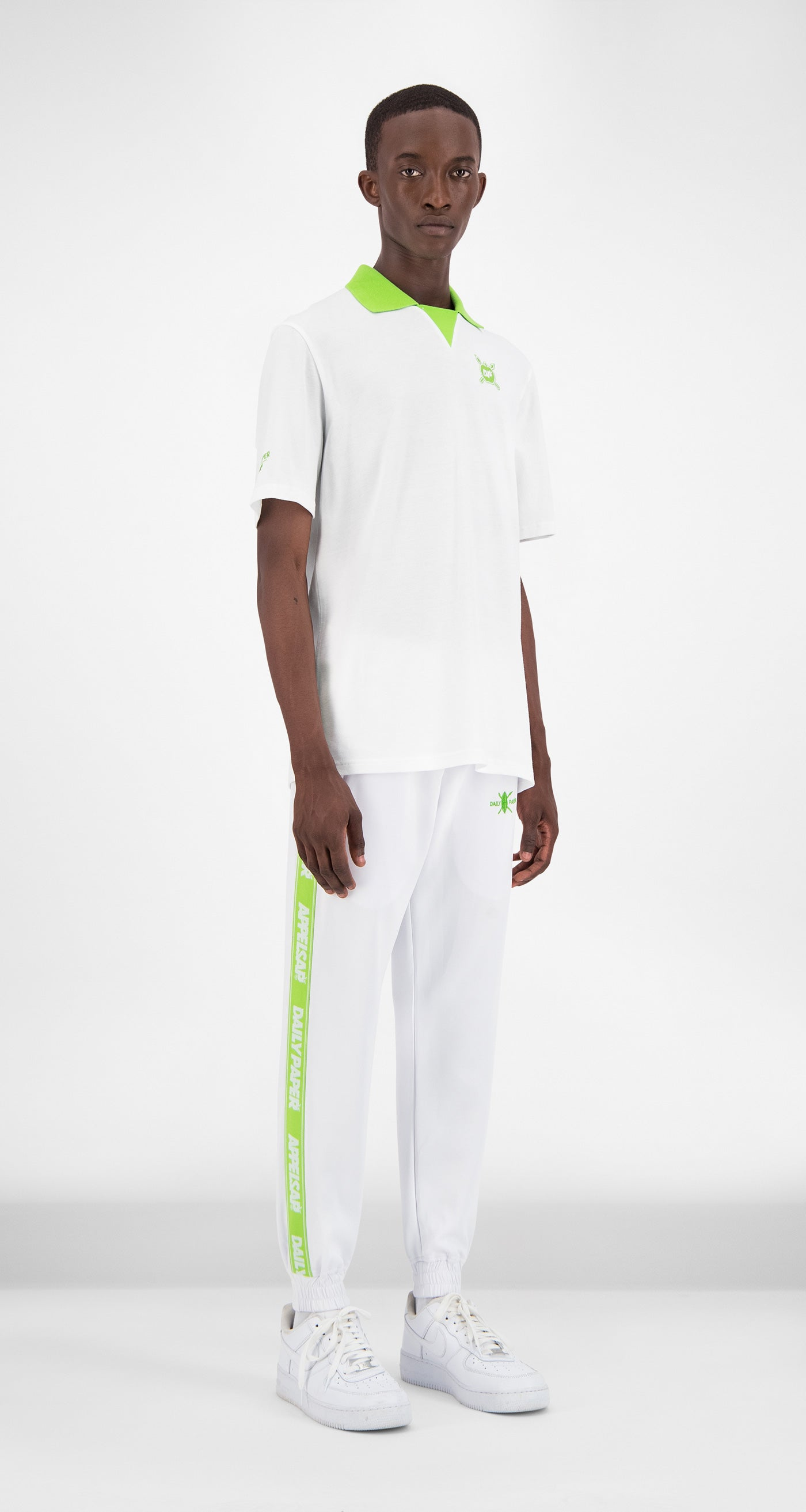 Daily Paper x Appelsap White Polo - Men