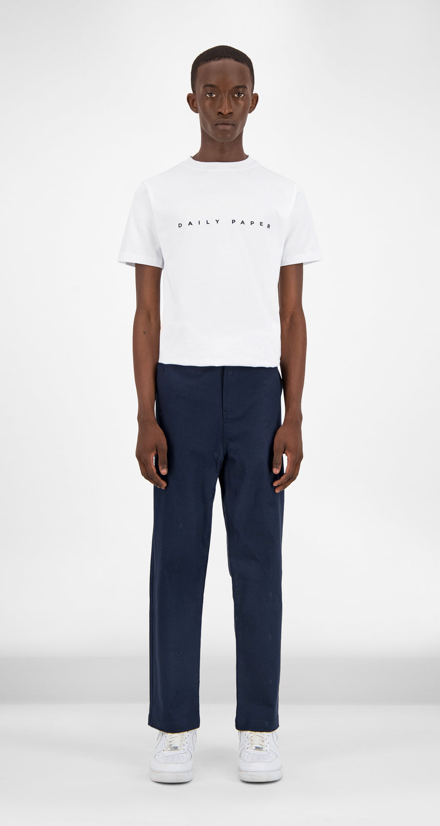 Daily Paper - Navy Kenya Pants Men Front