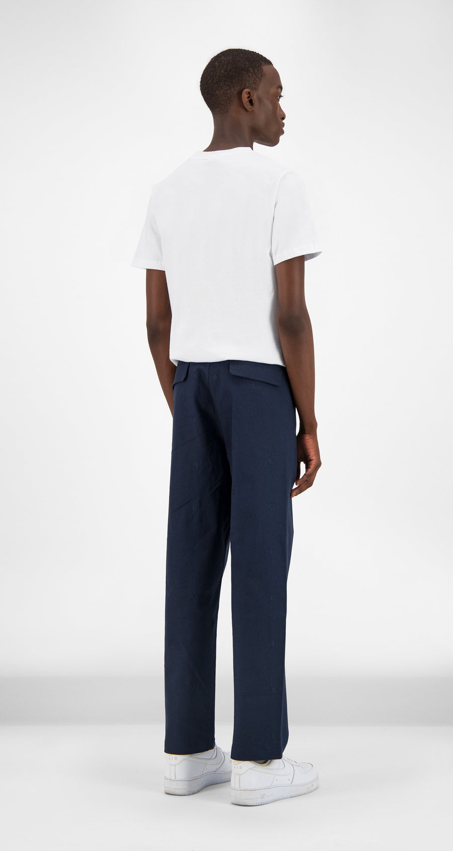 Daily Paper - Navy Kenya Pants Men Rear