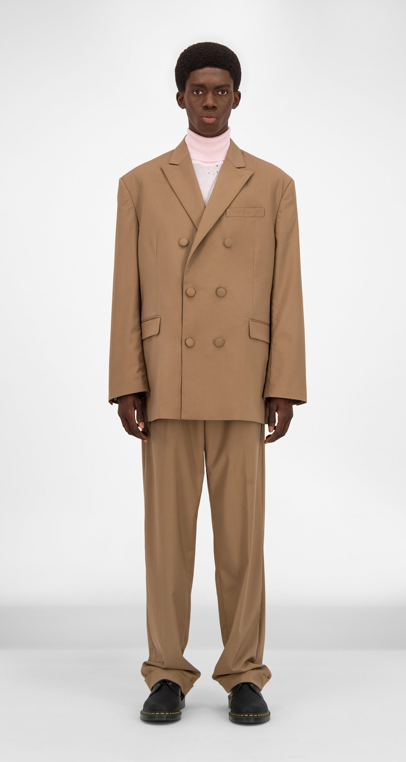 Daily Paper - Camel Gecker Jacket Men Front