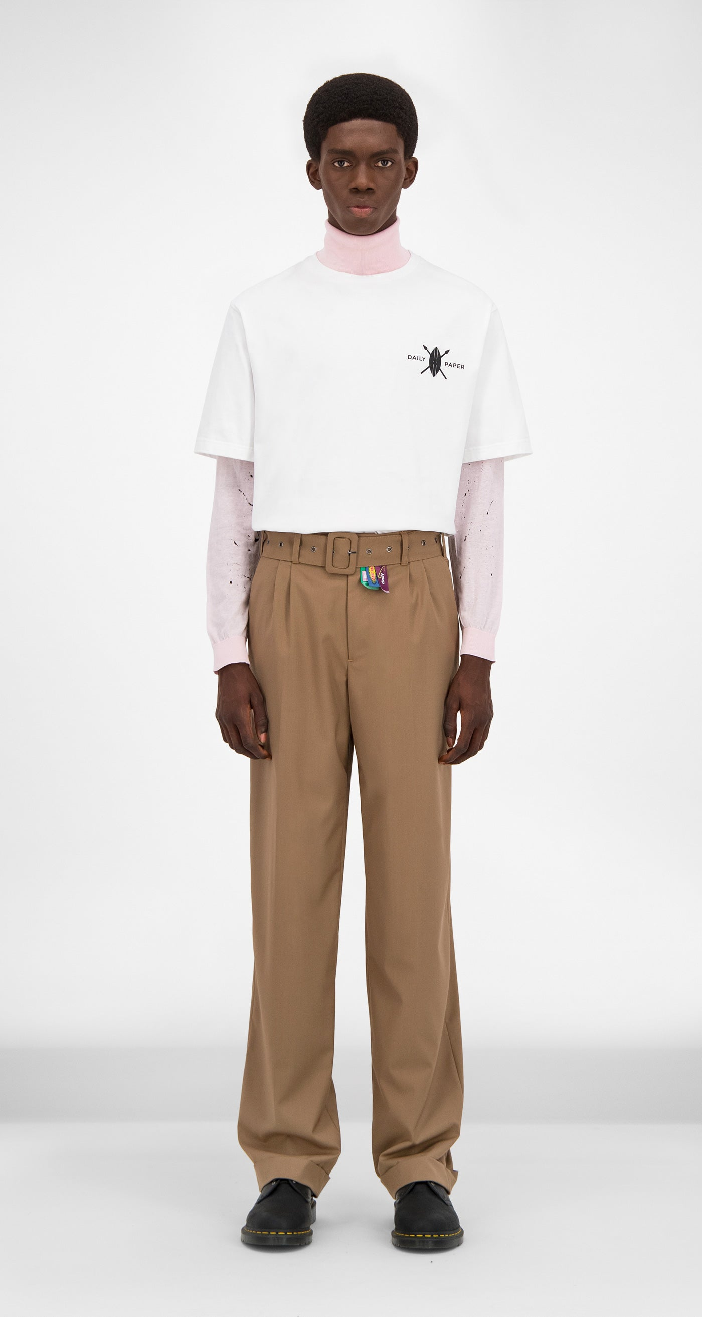 Daily Paper - Camel Giro Pants Men Front