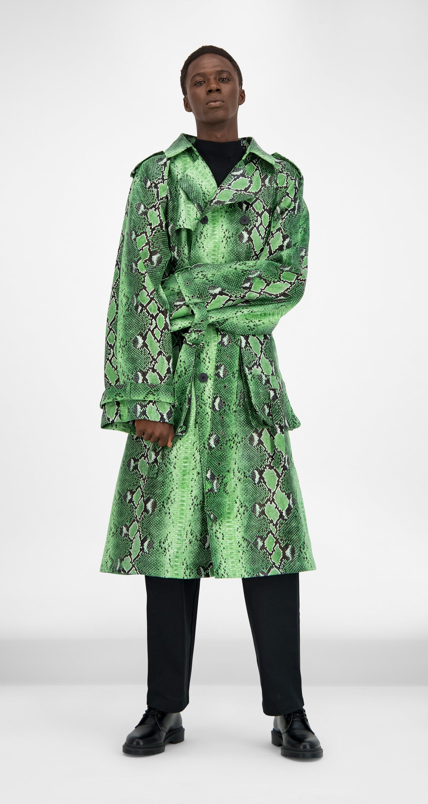 Daily Paper - Green Snake Gante Snake Jacket Men