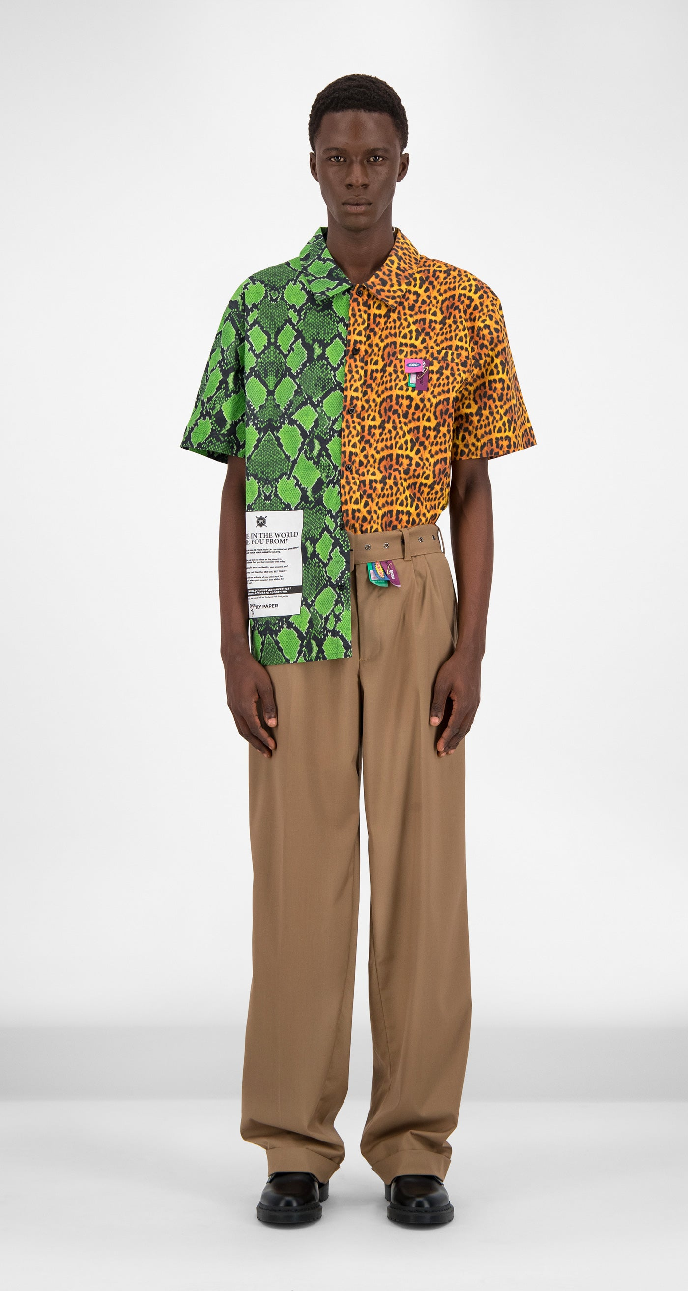 Jungle Printed Gatik Shirt - Men Front