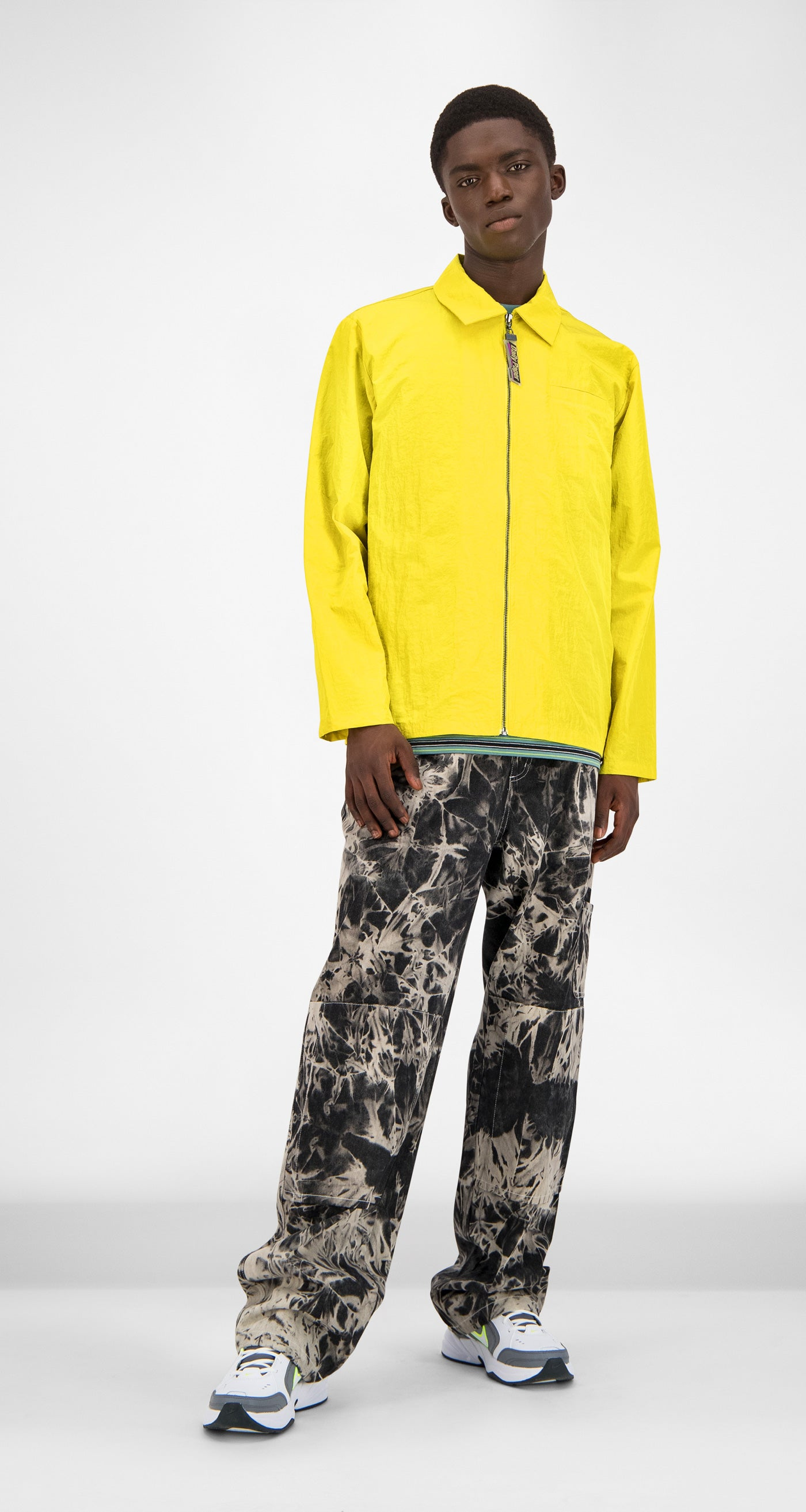 Yellow Gama Jacket - Men Front