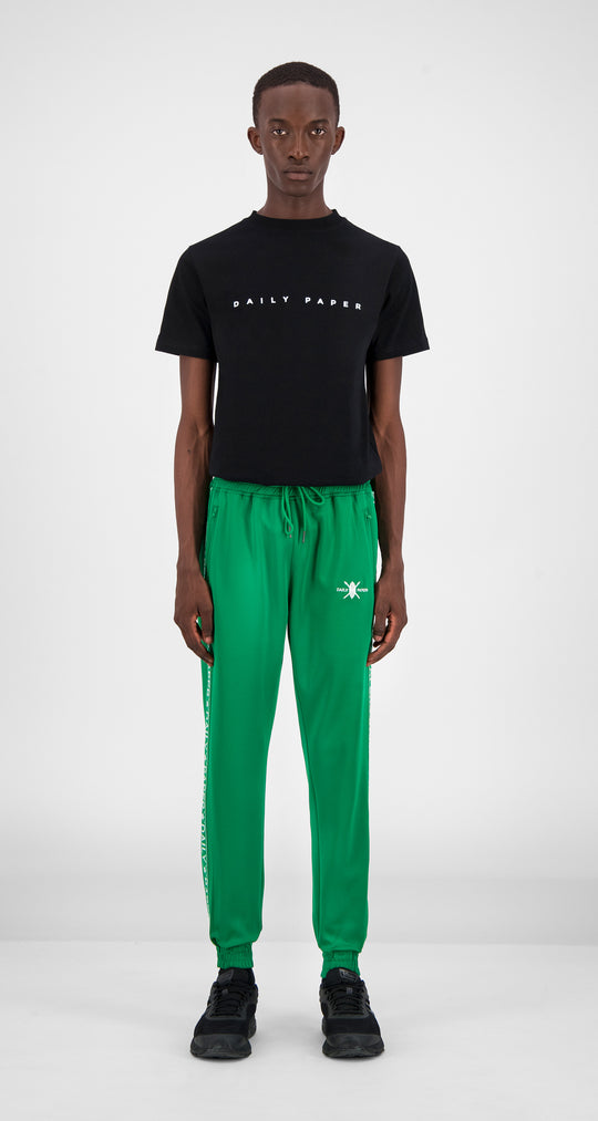 Jolly Green Tape Logo Track Pants - Men Front