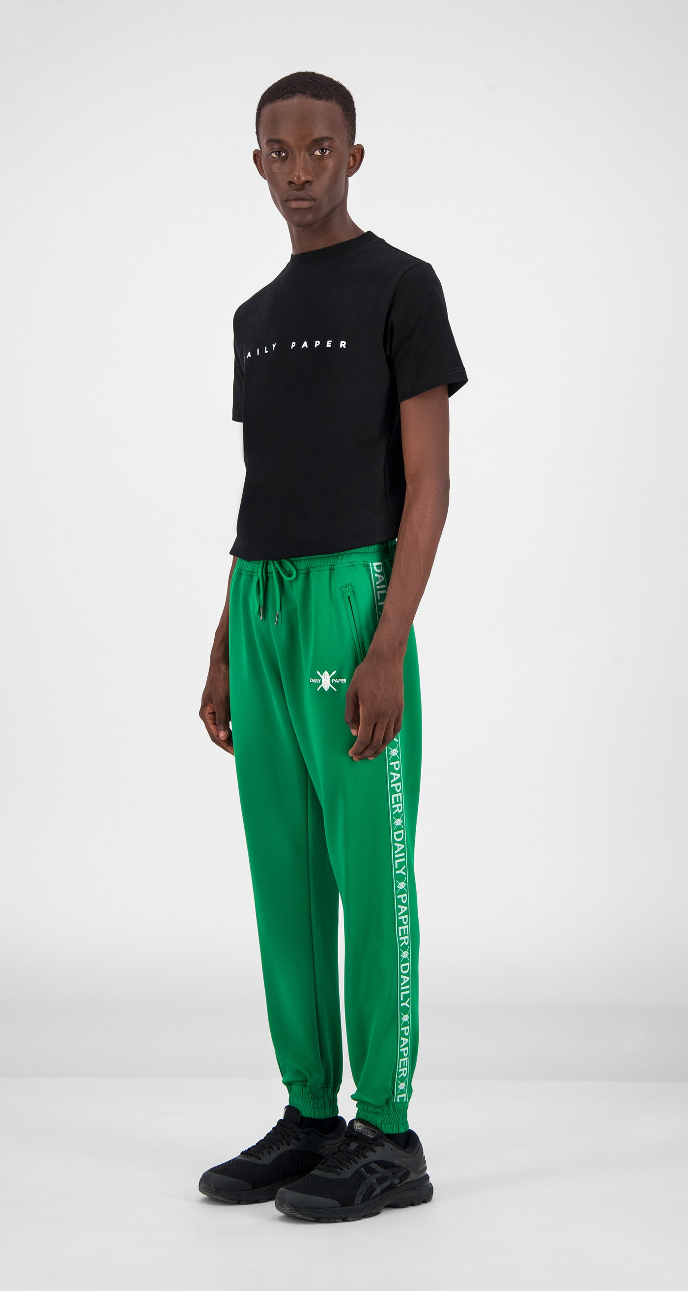 Jolly Green Tape Logo Track Pants - Men