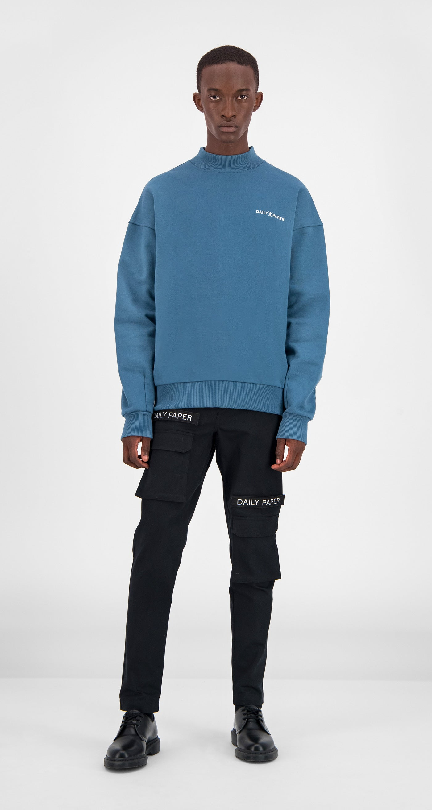Teal Aba Sweater - Men