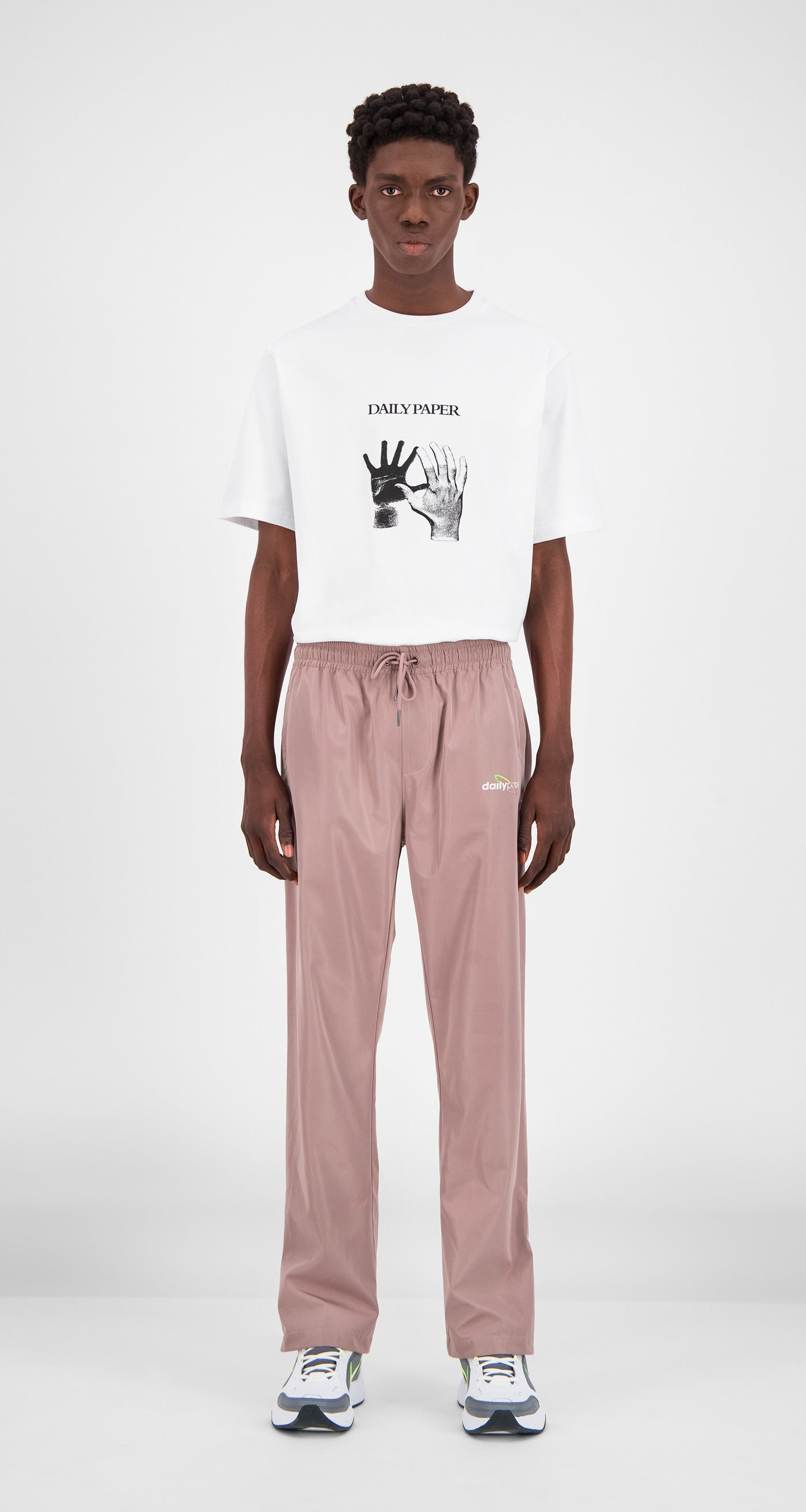 Old Pink Genozip Pants - Men Front