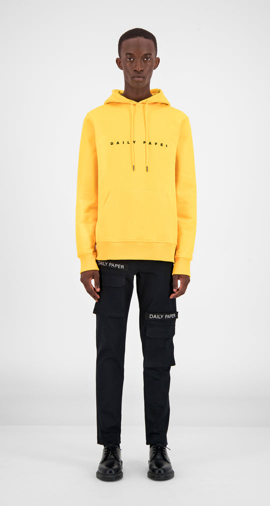 Yellow Alias Hoody - Men Front