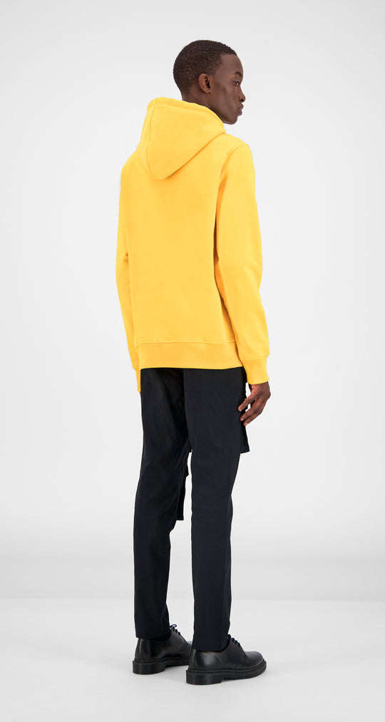 Yellow Alias Hoody - Men Rear