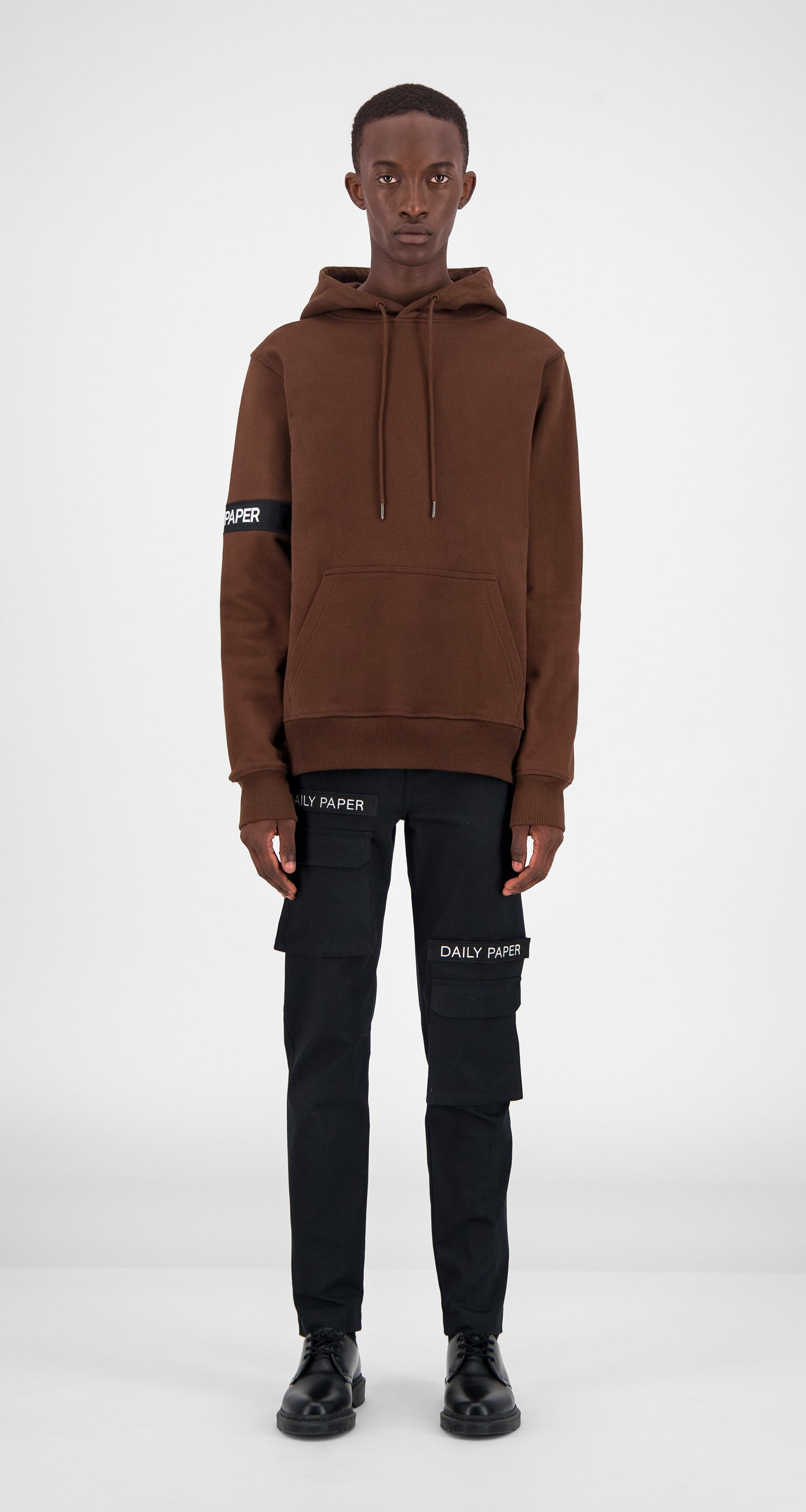 Brown Captain Hoody - Men Front