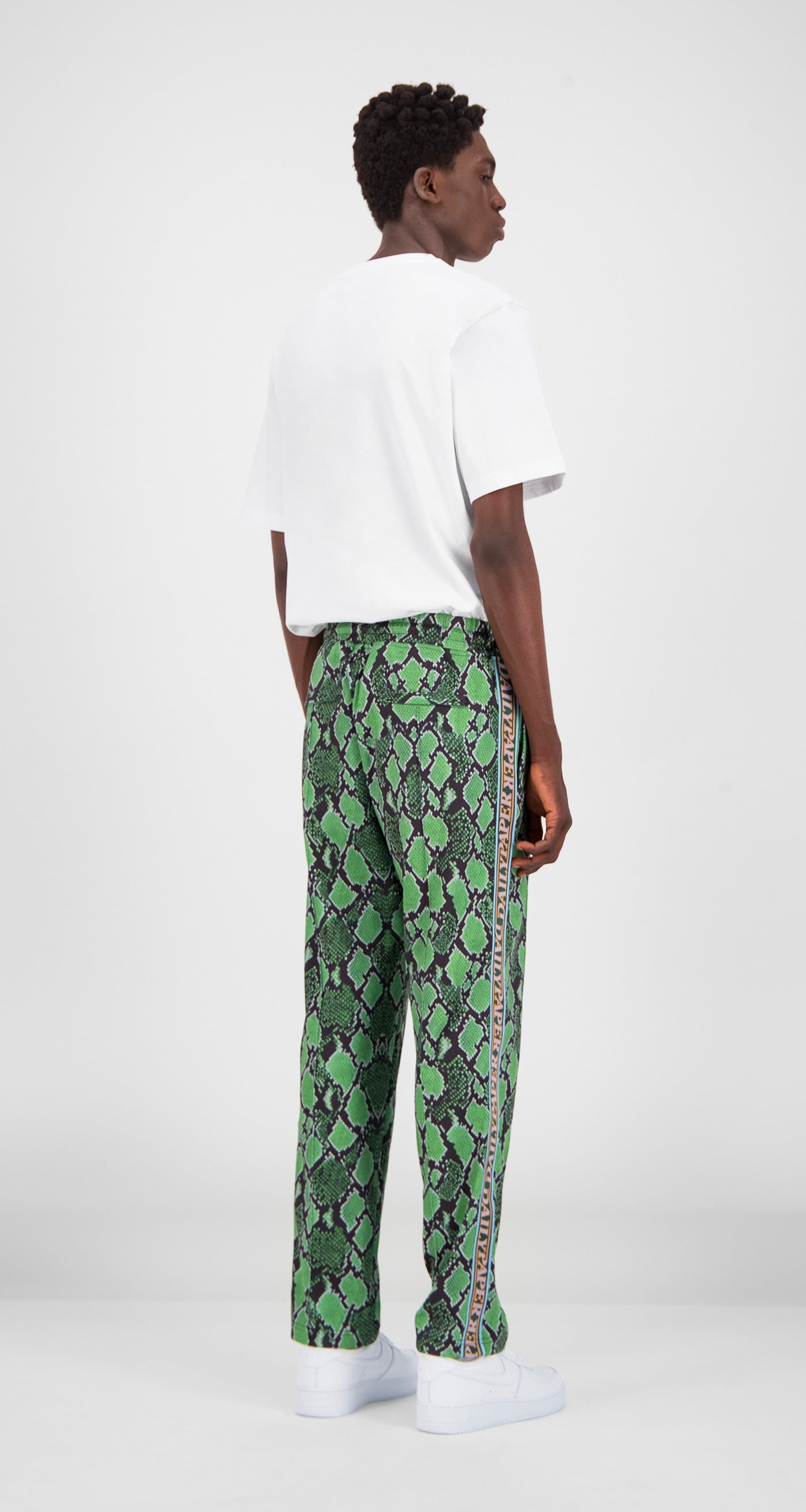 Daily Paper - Green Snake Liba Snake Pants Men Rear